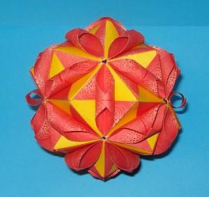 Кусудама Floral Globe от Tomoko Fuse