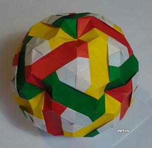 Truncated Rhombic Triacontahedron Kusudama