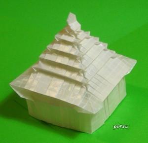 Оригами-модель Пагода