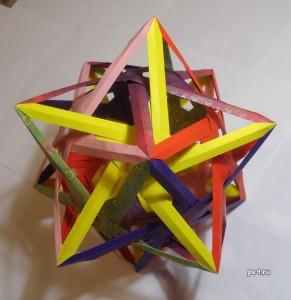 origami polyhedron QuadraHadraPudraPhedron