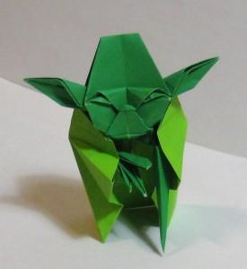 оригами Jedi Master Yoda