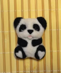 Валяный панда
