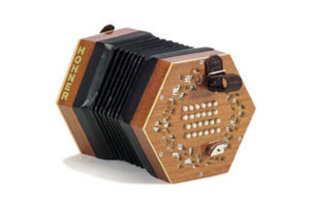 hohner english concertina - концертина английской системы фирмы hohner
